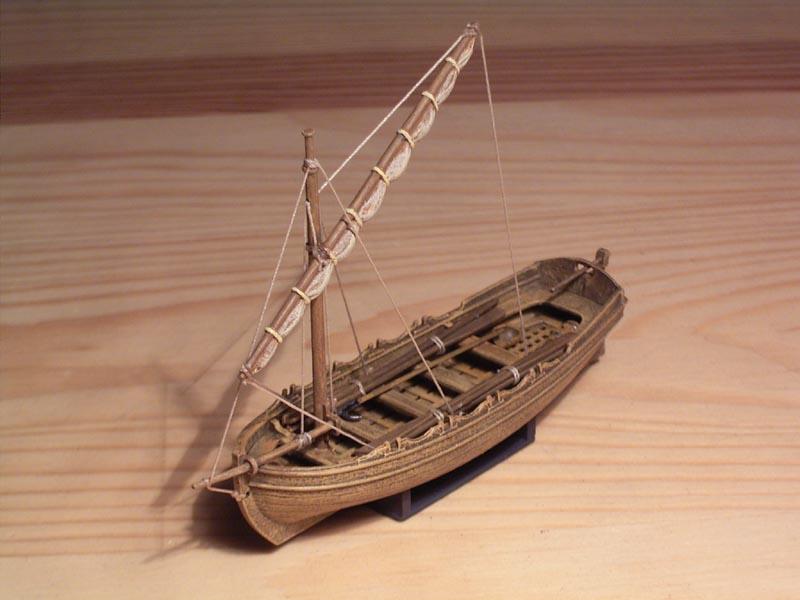 Medieval Live Boat (Zvezda, 1:72)